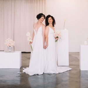 Modern elopement at new Las Vegas wedding chapel