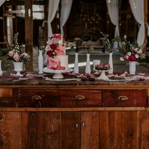 Bridal session tablescape