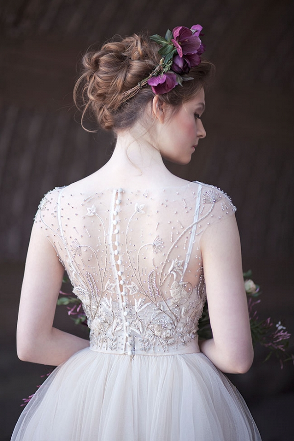 Stunning Bead Work On A Rebecca Schoneveld Wedding Dress Claudia McDade