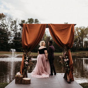 Moody fall farmstead wedding inspiration