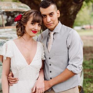 Organic farmstead wedding inspiration