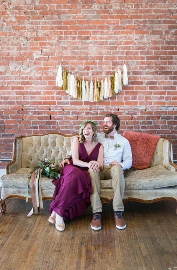 Loft Wedding Pomona California Loft on 2nd Peterson Design Photography