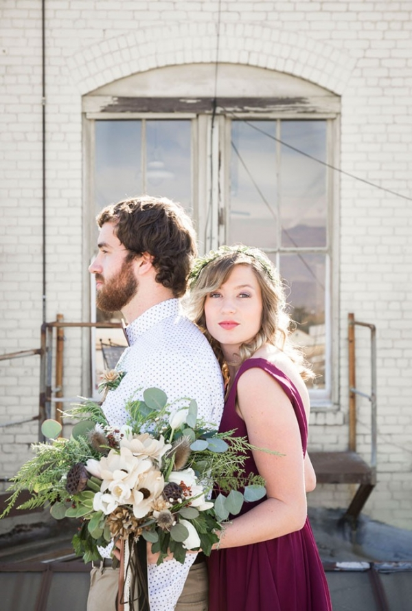 Quirky Loft Wedding At Pomona California Loft on 2nd Peterson Design Photography