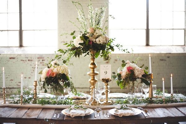 Romantic Industrial Wedding Anna Duncan Photography