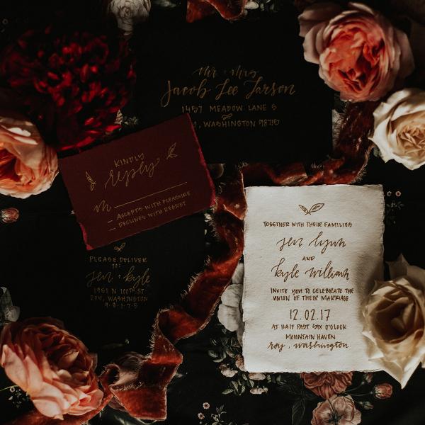 Romantic Wedding Inspiration at Mystical Washington Manor Sarah Thompson