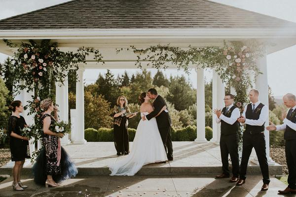 Romantic Winery Wedding in Oregon Hazelwood