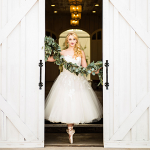 Industrial Prima Ballerina Wedding Photo La Vie