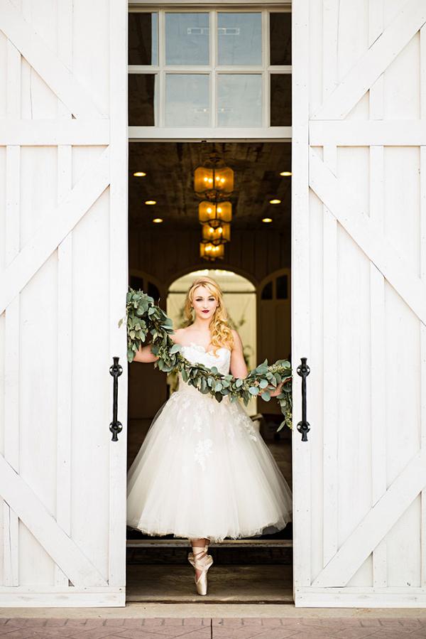 Industrial Prima Ballerina Wedding Photo La Vie