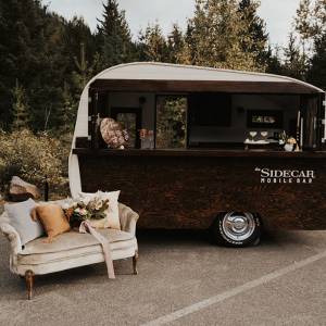 Bar on wheels