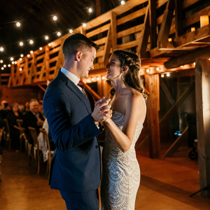 Exquisite barn wedding reception