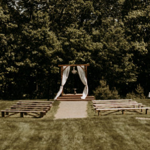 Rustic elegance countryside wedding in Maine