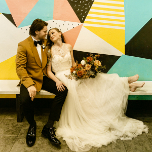 Unique coffee shop elopement in Portland