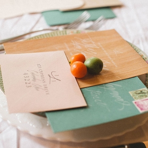 Upscale Hip Wedding Invitation DiBlasio Photography