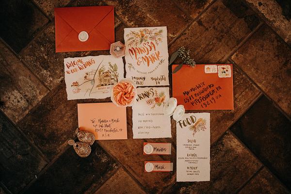 Wedding invitations and greetings