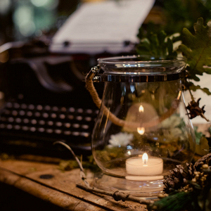 Vintage Typewriter At Wedding