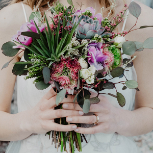Bouquet with Succulents