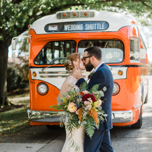 Eclectic fall wedding in Pittsburgh