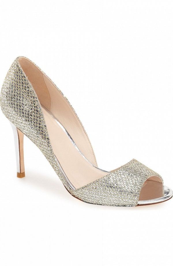 'Antonia' d'Orsay Peep Toe from Cole Haan
