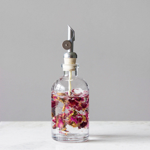 Apothecary glass oil dispenser