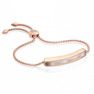 Semi Precious Stone Rose Gold Bracelet