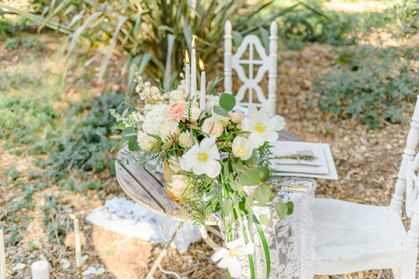 Spring sweetheart table