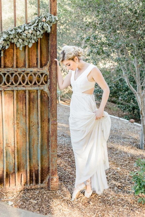 Balletic bride