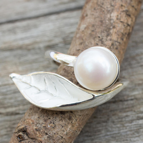 Blossom In The Snow Wrap Ring