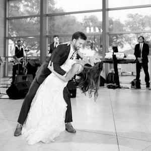 Krista and Joe's first dance