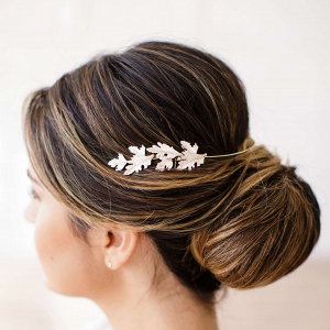 Cinzia Leaf Bridal Halo