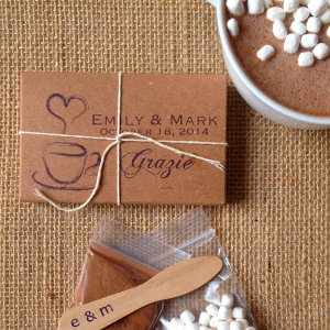 Hot Cocoa Wedding Favors