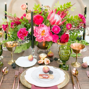 Peruvian-inspired tablescape