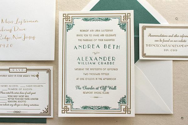 Daisy Suite Wedding Invitation