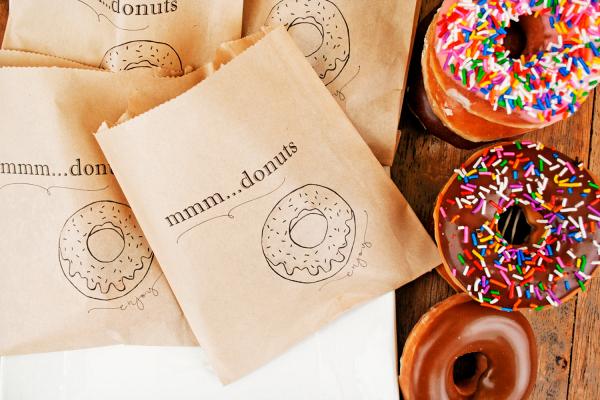 Donut Favor Bags