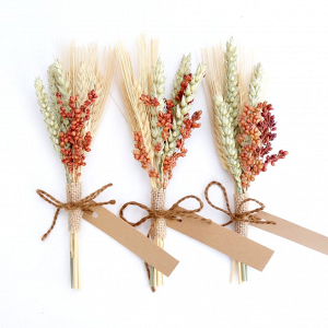 Fall Wheat Place Cards