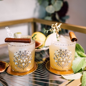 Spiced pear cocktail recipe for fall