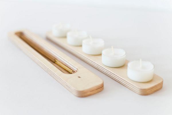 Eco-friendly incense burner