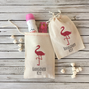 Flamingo Hangover Kit Bag