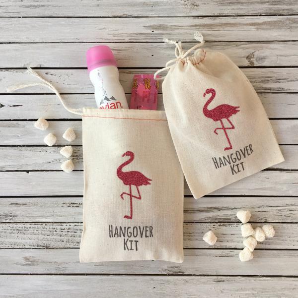Flamingo Hangover Kit Bag