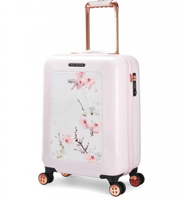 Ted Baker Small Pink Floral Suitcase