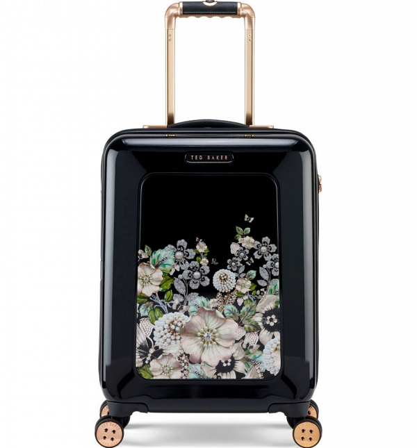 Ted Baker Suitcase with a Floral Print