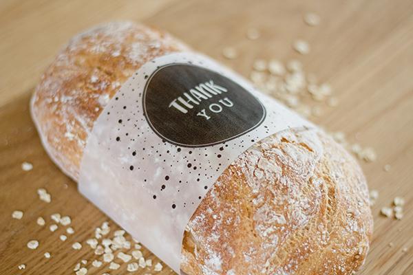 Free bread sleeve printables