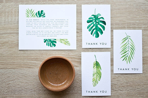 picture about Thank You Tag Printable referred to as Totally free Printable: Tropical Thank-Yous - Aisle Tradition