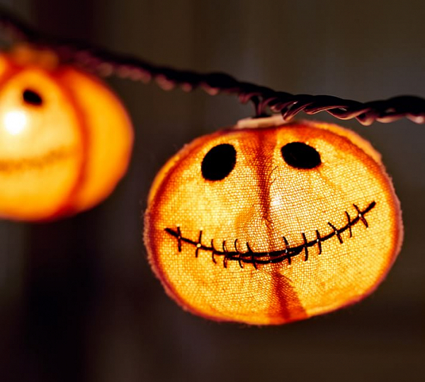 Jack-o'-Lantern String Lights