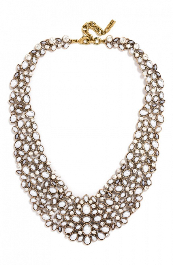 'Kew' Crystal Collar Bridal Necklace