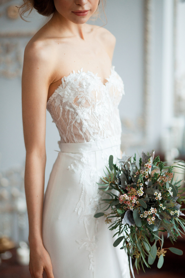 Kristin Wedding Dress Bodice