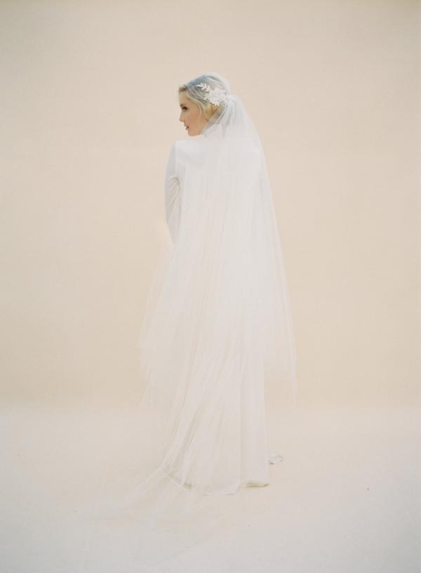 Vintage Juliet Cap Veil