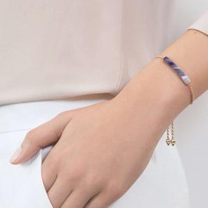 Linear Amethyst bracelet
