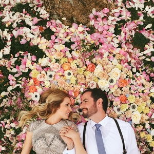 A flower-filled spring wedding shoot at the Graylyn Estate in North Carolina