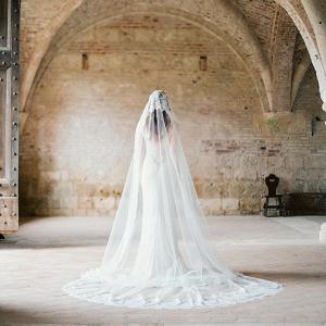 Mantilla Lace Bridal Veil