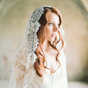 Mantilla Lace Bridal Veil